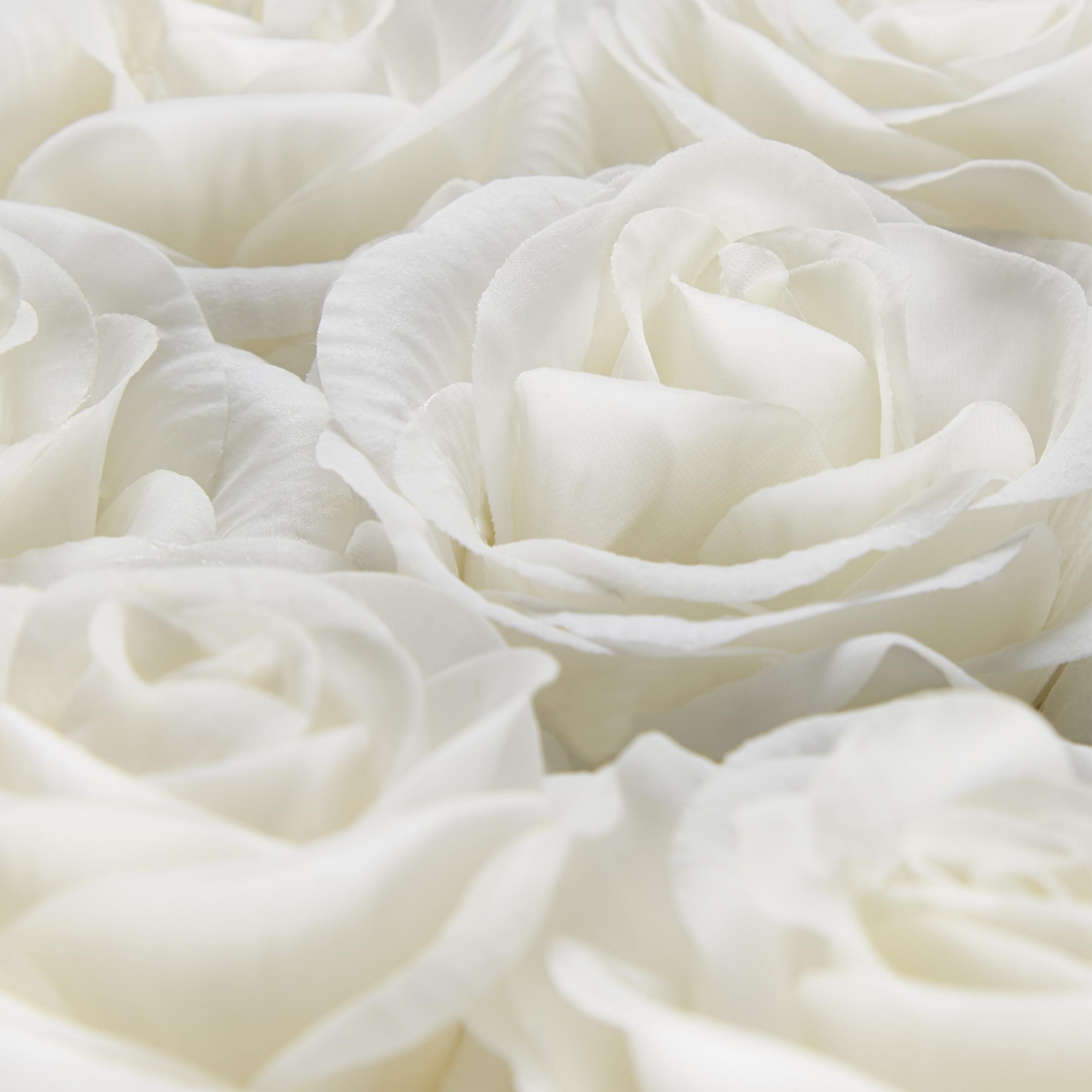 Rosenbox-Flowerbox-Ewige-Rosen-Blumenbox-49-Kunstblumen-eckig-Deko-Valentinstag Indexbild 24