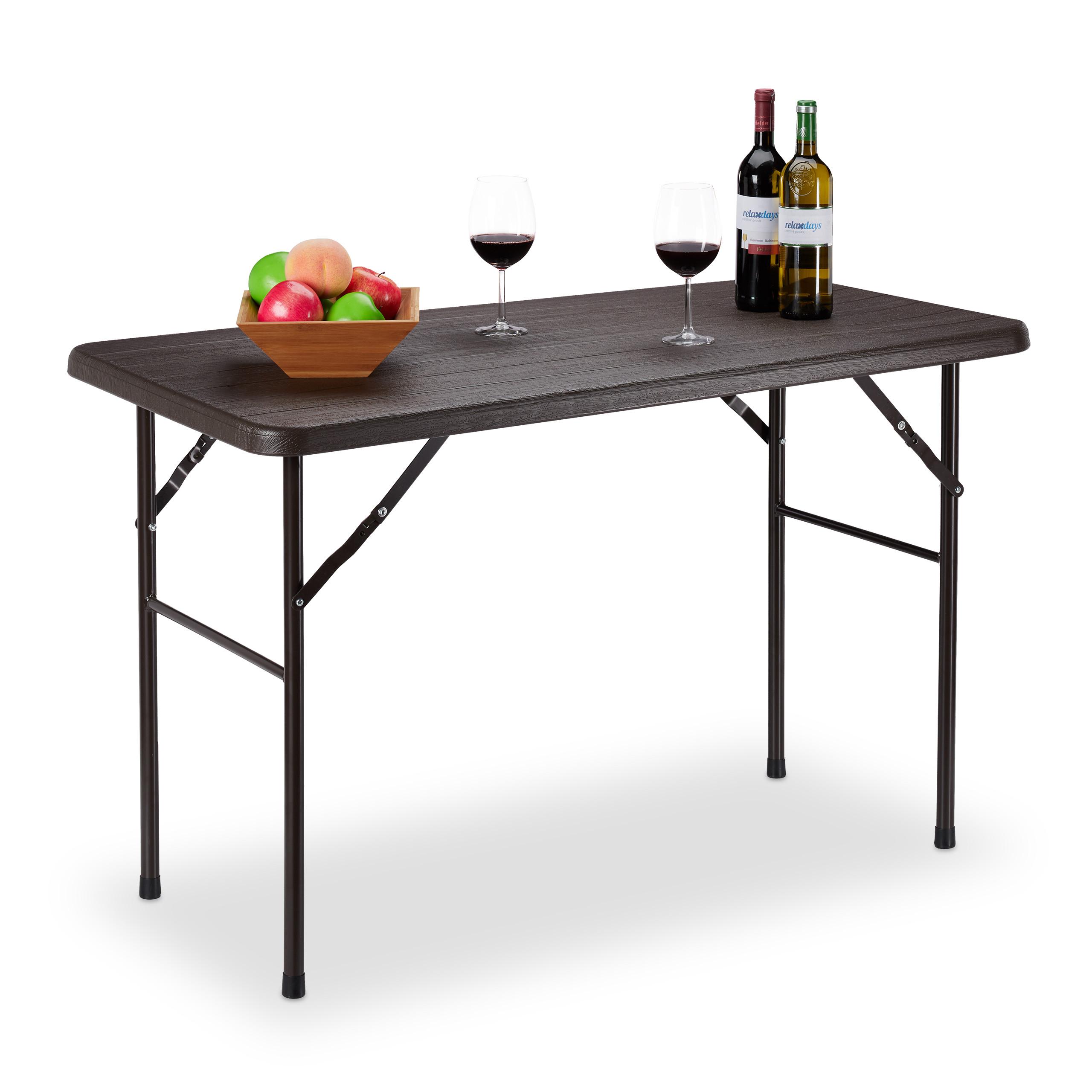 vidaXL Gartentisch Kunststoff Esstisch Campingtisch Tisch mehrere Auswahl