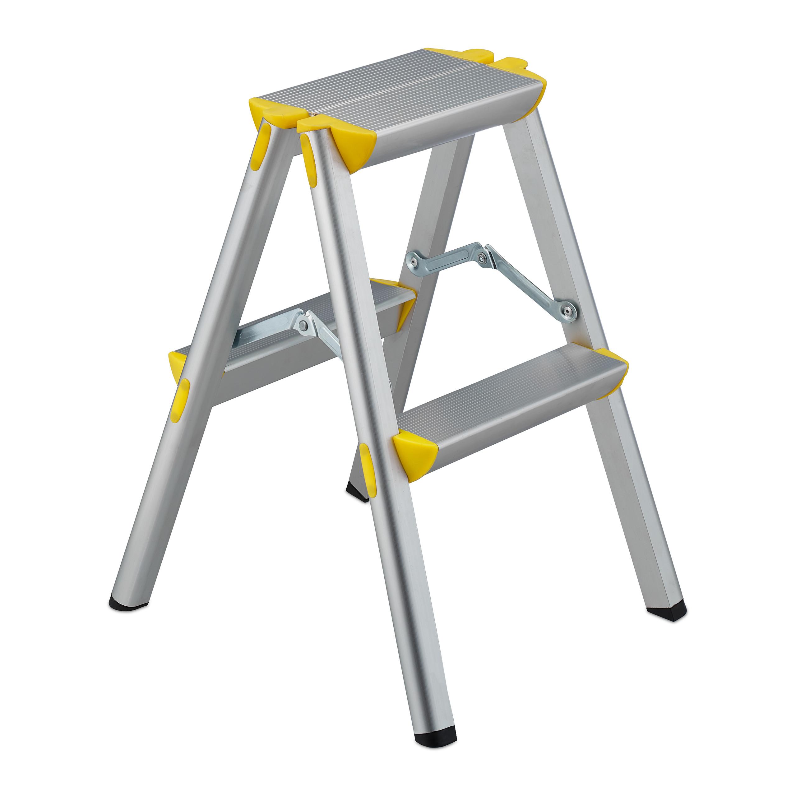Bockleiter Alu Klappleiter Klapptritt Stehleiter Trittleiter 150 kg Stufenleiter
