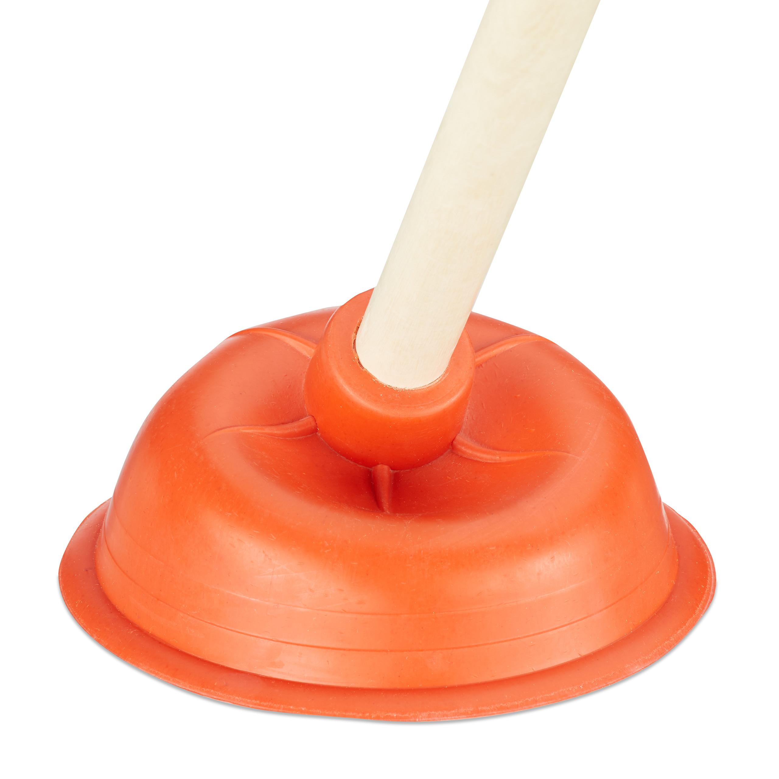 3er Set Abflussreiniger Pömpel Saugglocke Gummi Pümpel Klostampfer Rohrreiniger