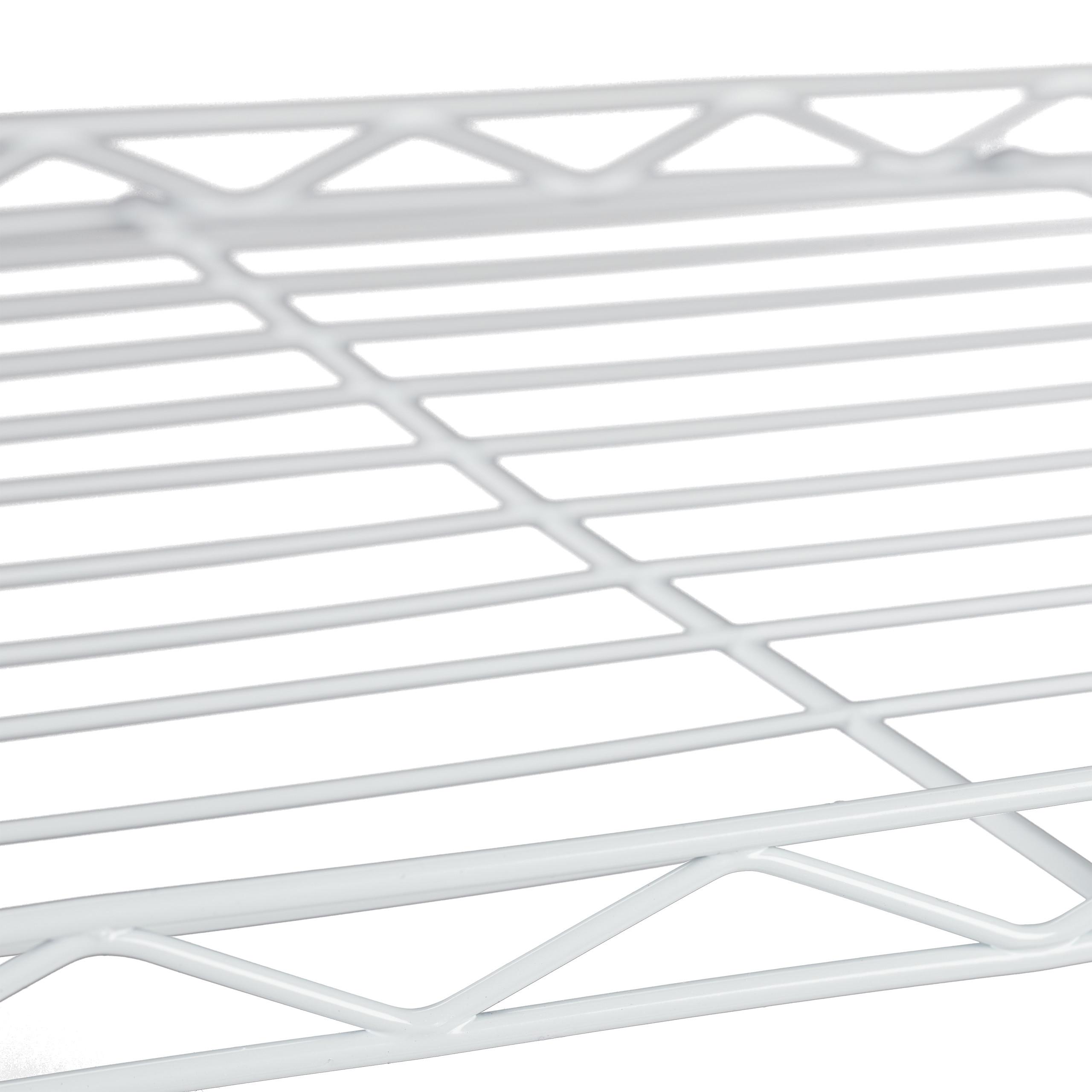 Regal-Metall-Kuechenregal-Metallregal-Kueche-Standregal-Schuhregal-Vorratsregal Indexbild 7