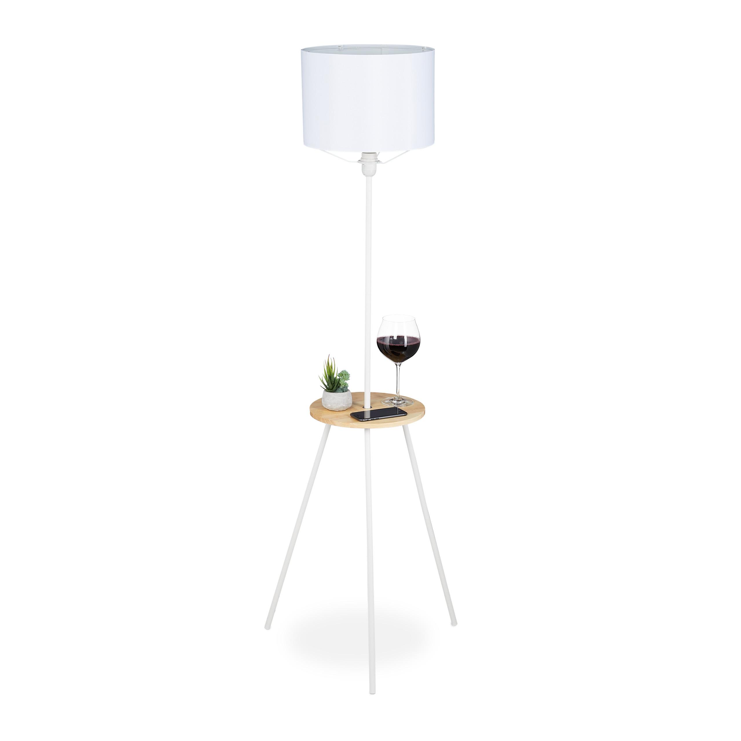 Stehlampe Mit Tisch Stehleuchte Standleuchte Standlampe Tripod