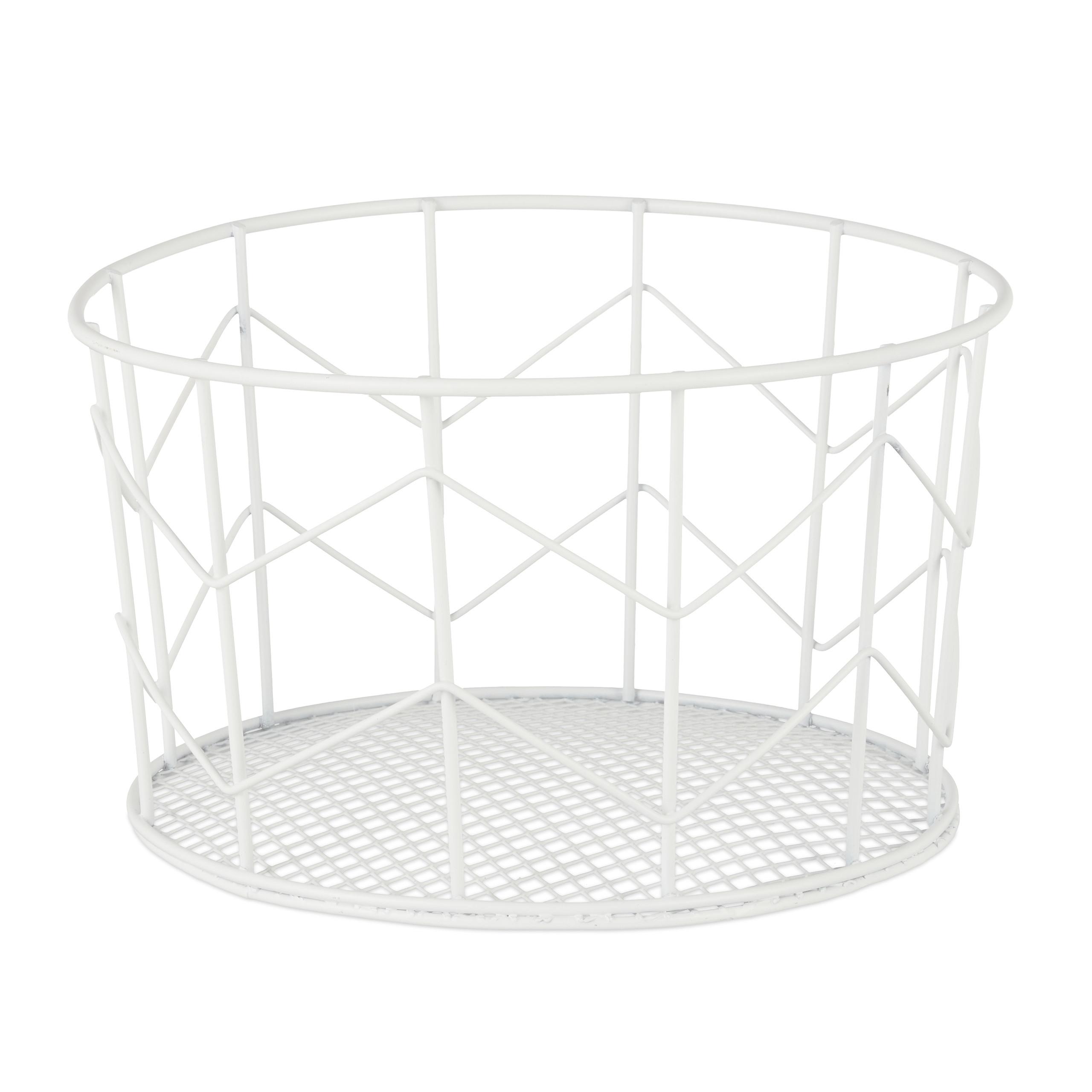 Korbe Mobel Wohnen Drahtkorb Aufbewahrungskorb Metall Allzweckkorb Wire Basket Metallkorb Deko Korb Fr Regnum Be