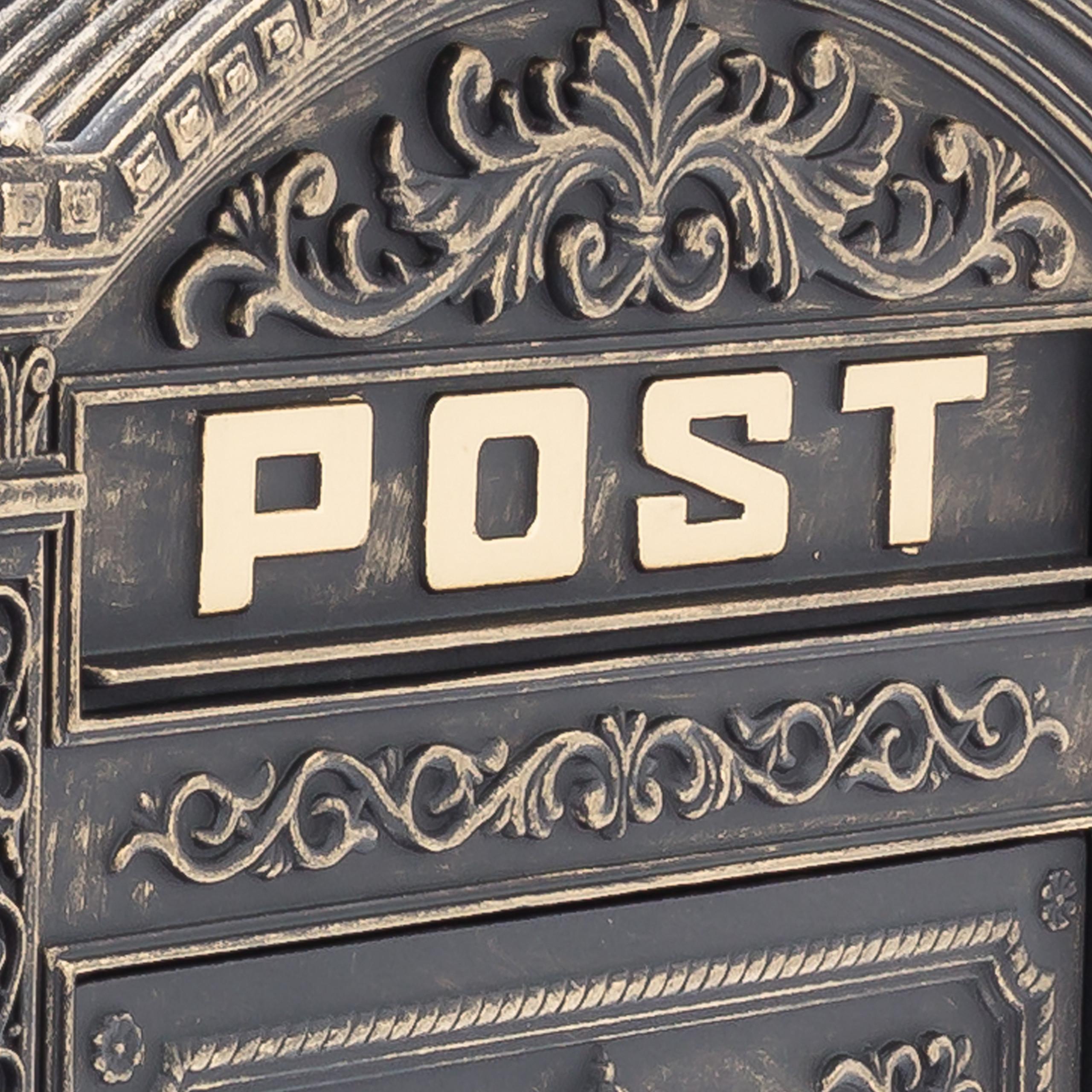miniature 34 - Boîte aux lettres murale vintage nostalgique style ancien