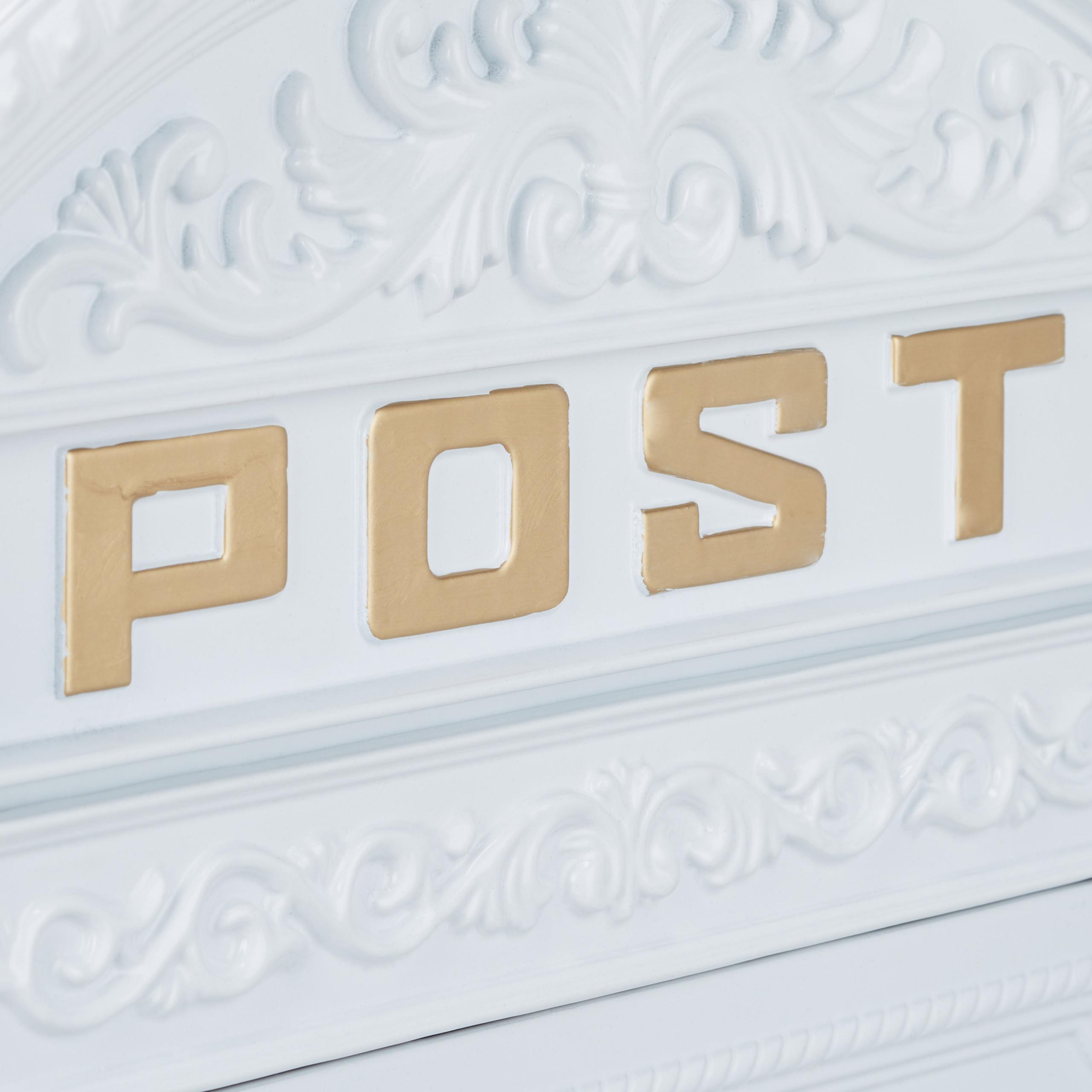 miniature 20 - Boîte aux lettres murale vintage nostalgique style ancien