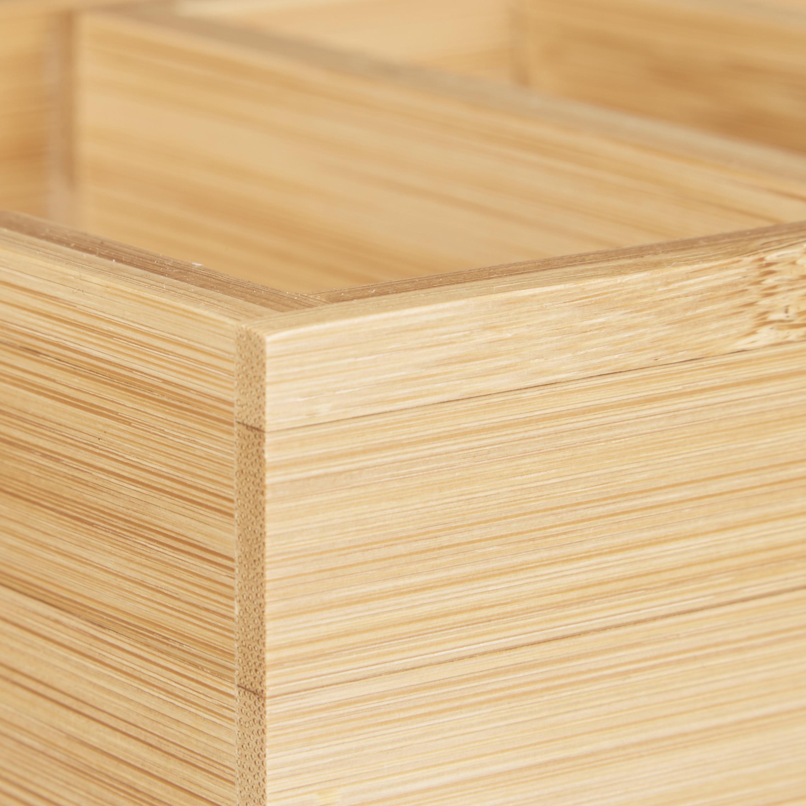 Karteikasten-DIN-A8-Holz-natuerlich-Karteikartensystem-Lernbox-Visitenkartenbox Indexbild 7