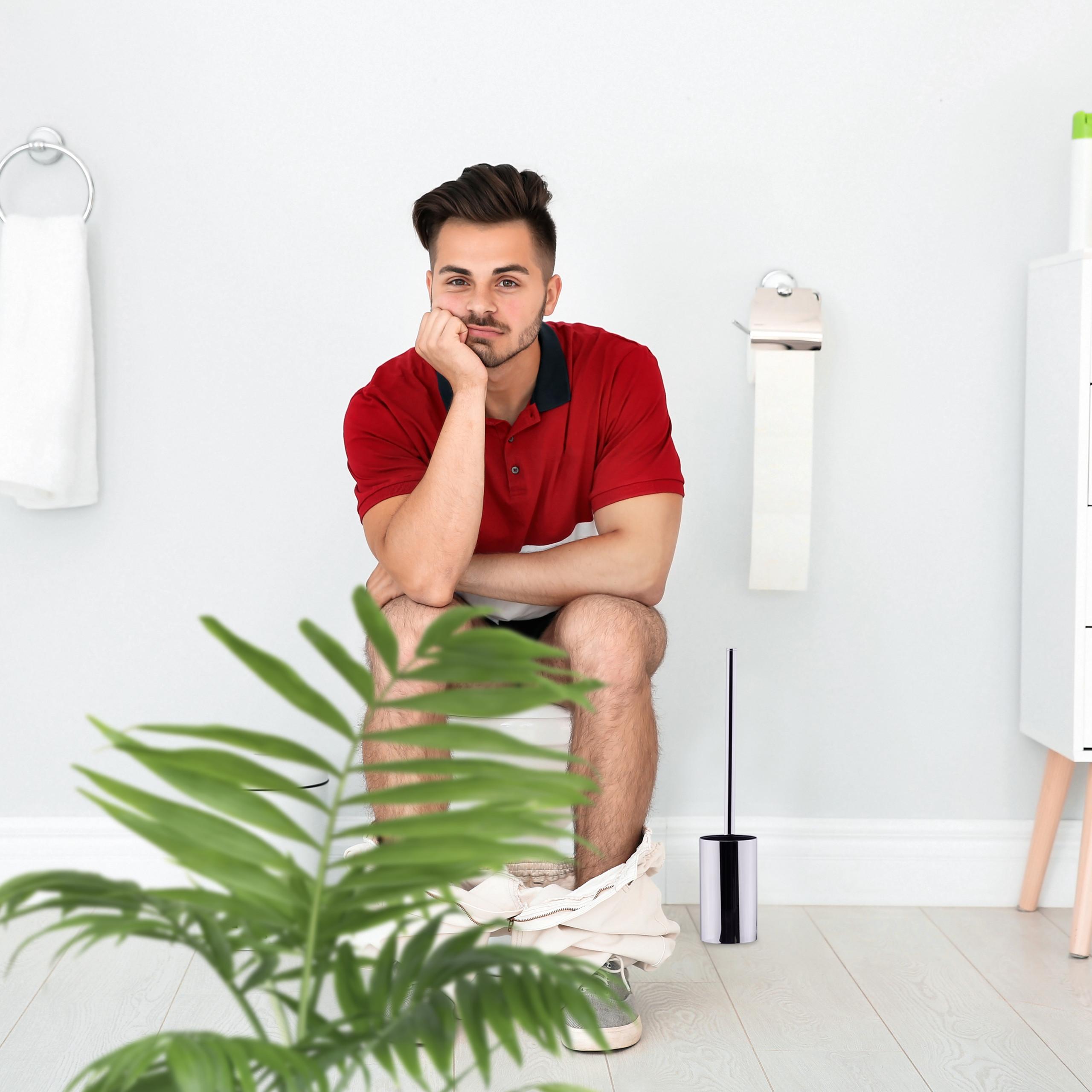 Escobilla de baño, Soporte pared, Escobillero wc ...