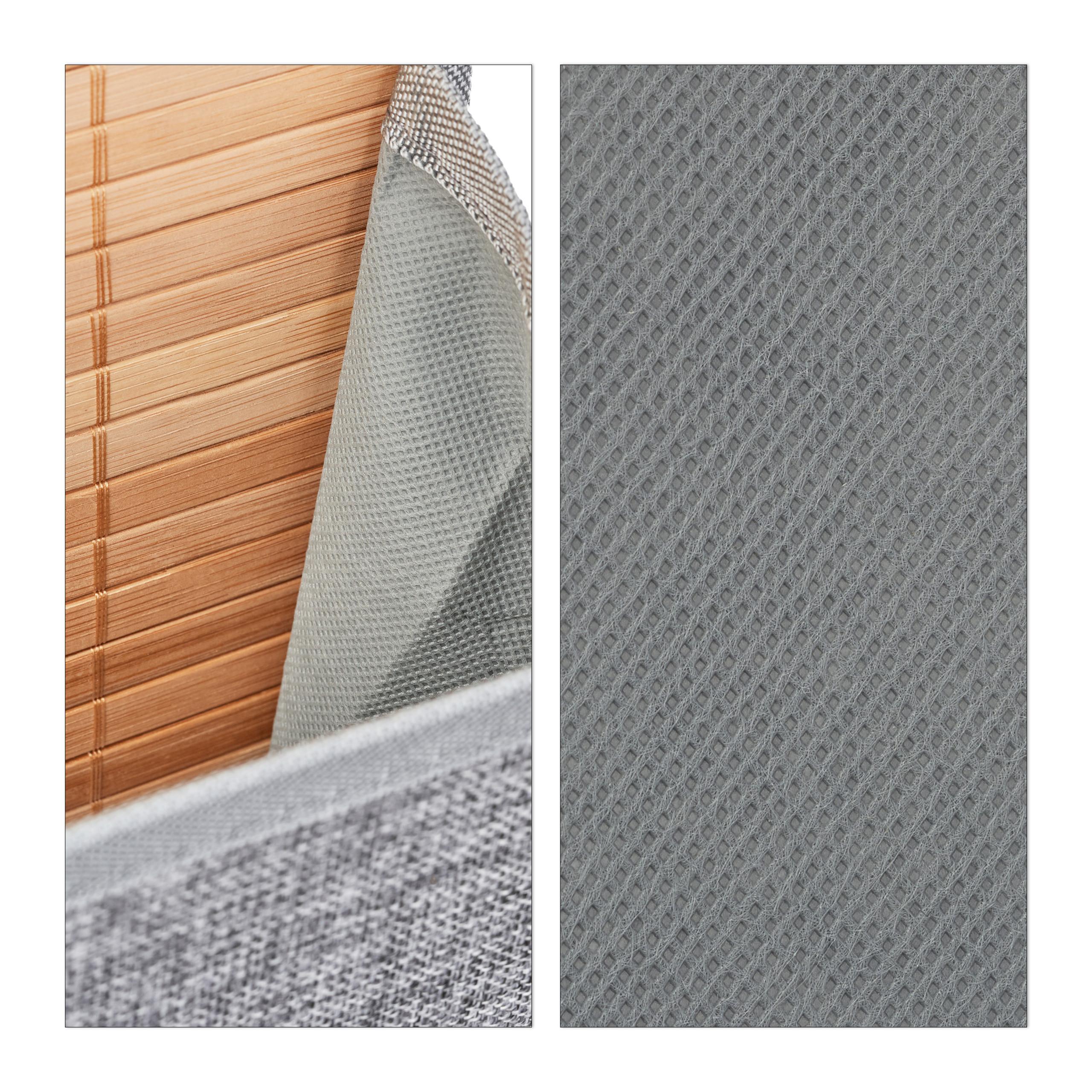 miniatura 7 - Tasca portaoggetti da parete, bagno, cameretta, guardaroba, pieghevole, grigio