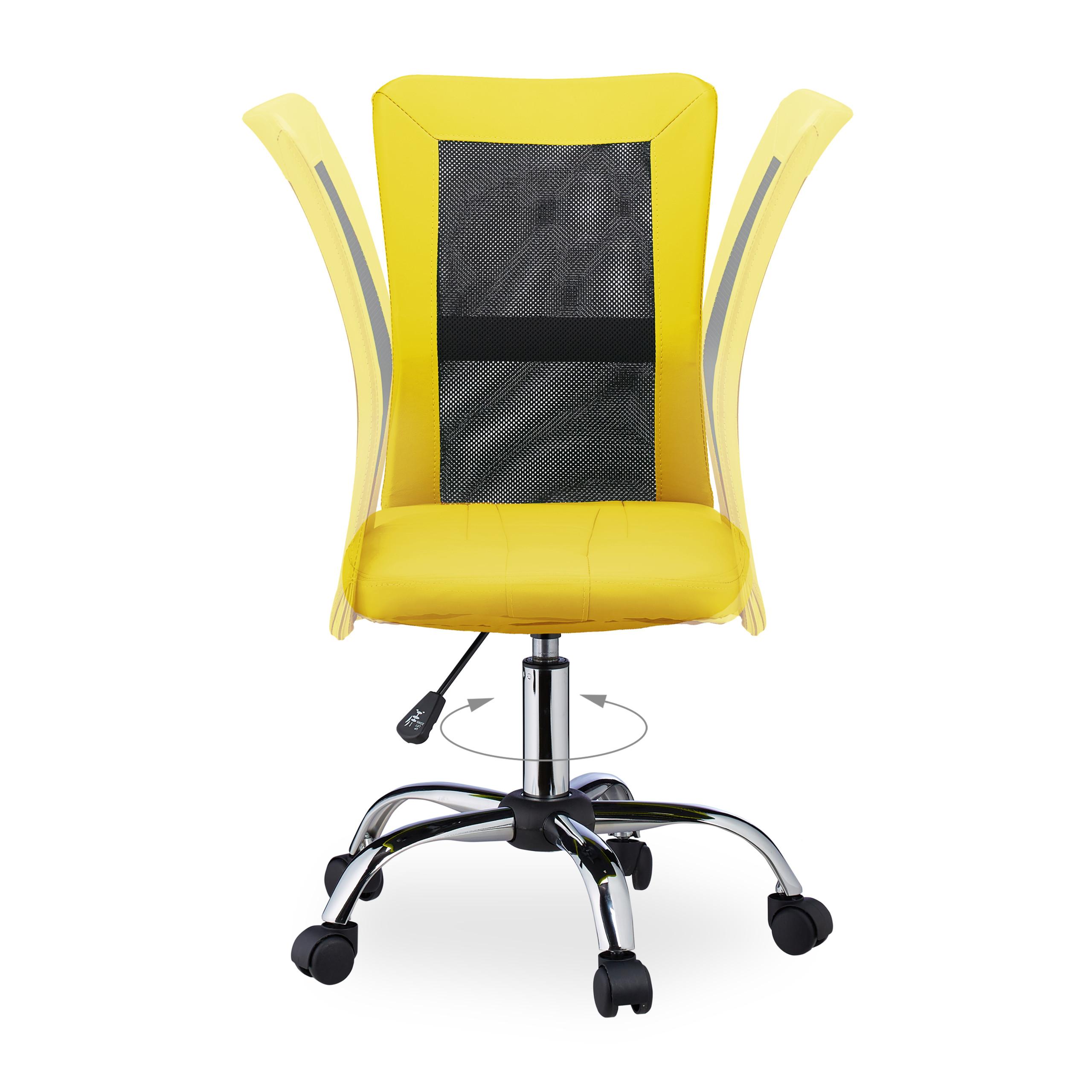 Sedia girevole da ufficio poltrona per scrivania ...