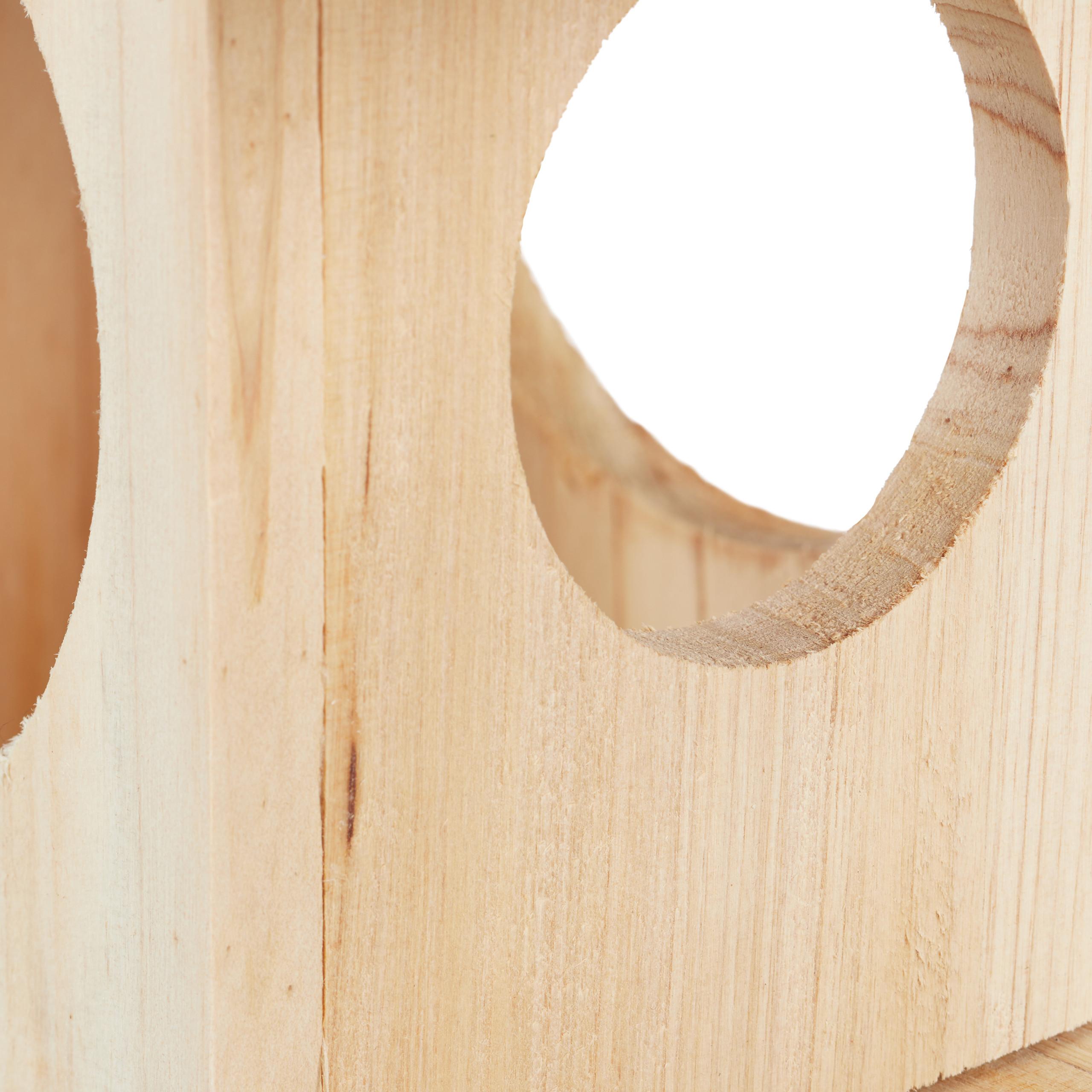 miniatuur 14 - eekhoorn voederhuisje - voederhuis - voederkast - voederbak - hout - voederplek