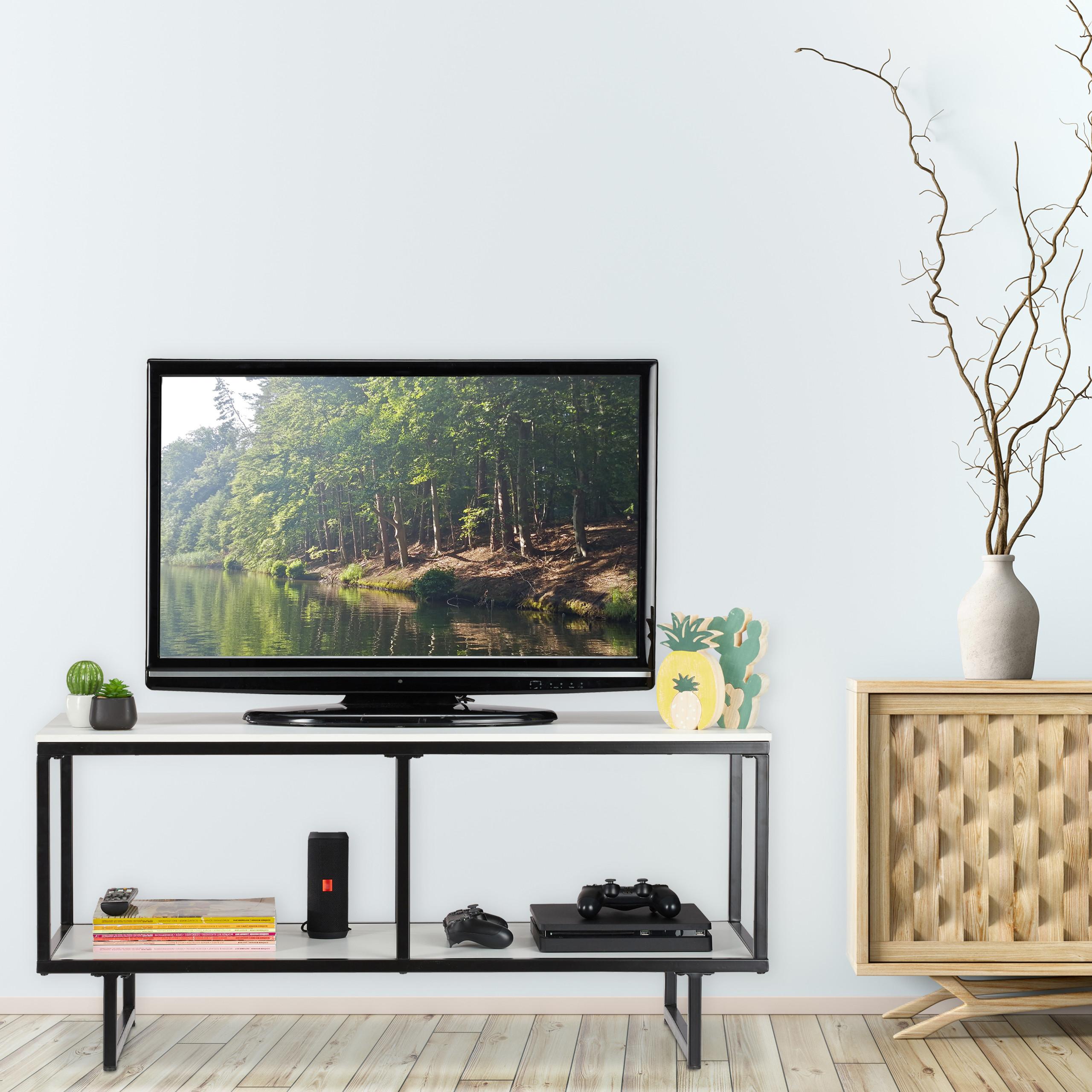 Mobile tv bianco tavolino per la televisione mobiletto ...