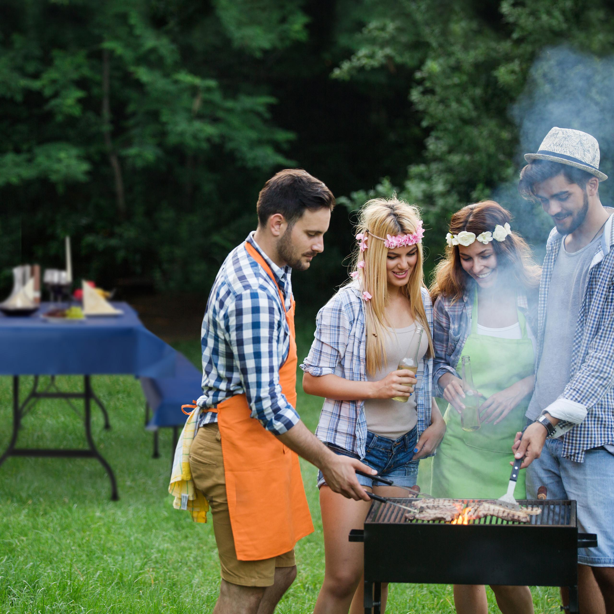 miniature 25 - Ensemble pour tente à  bière 3 éléments Nappe table à bière housses banc tente