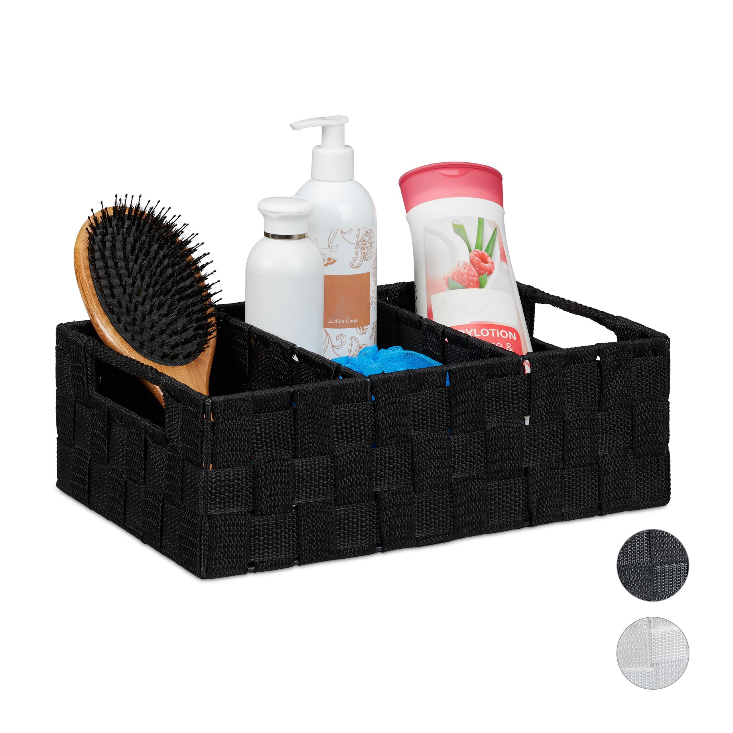 Details zu Aufbewahrungskorb Bad Organizer Körbchen Aufbewahrungsbox Deko  Box Kosmetik Korb