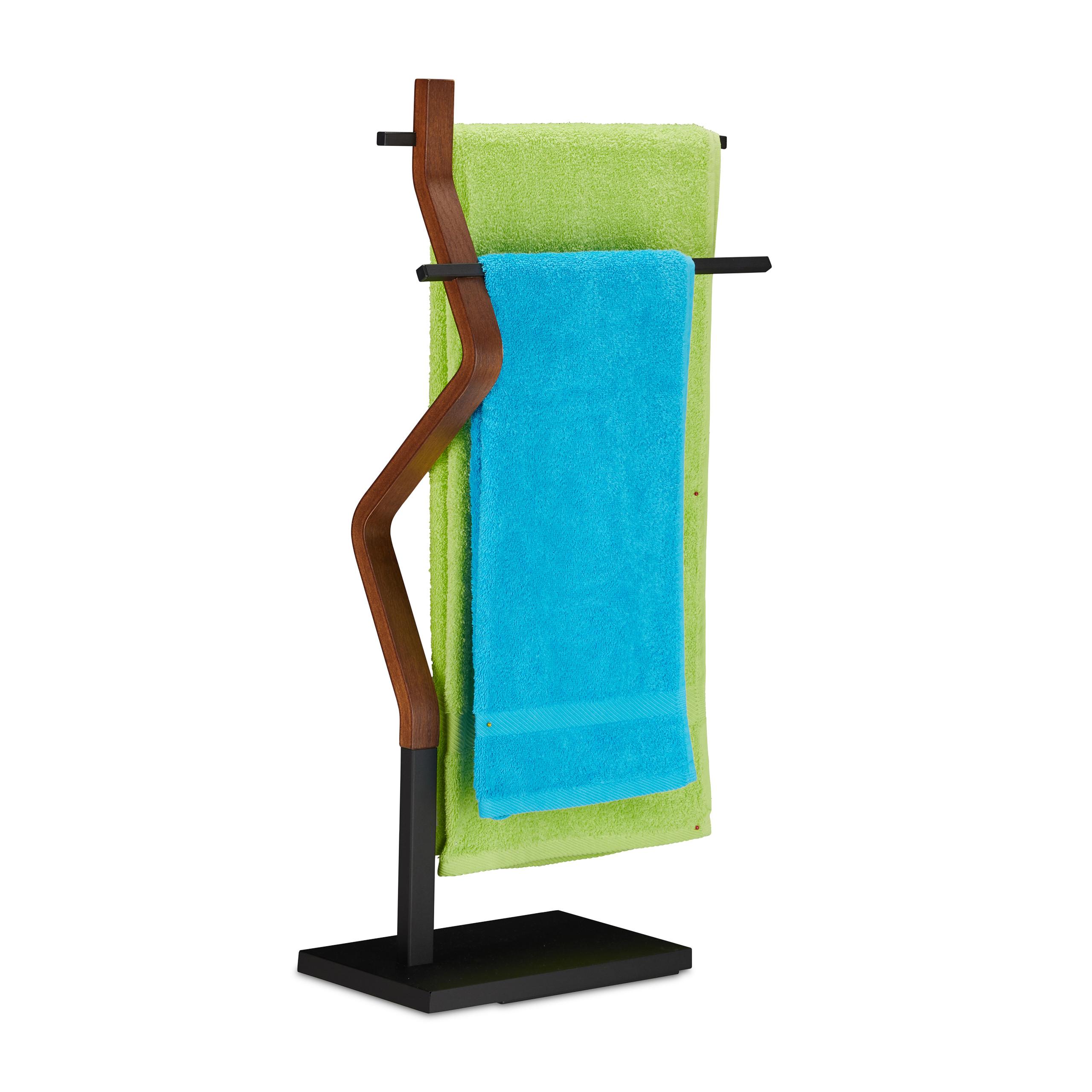 Handtuchhalter stehend Badetuchhalter Handtuchständer