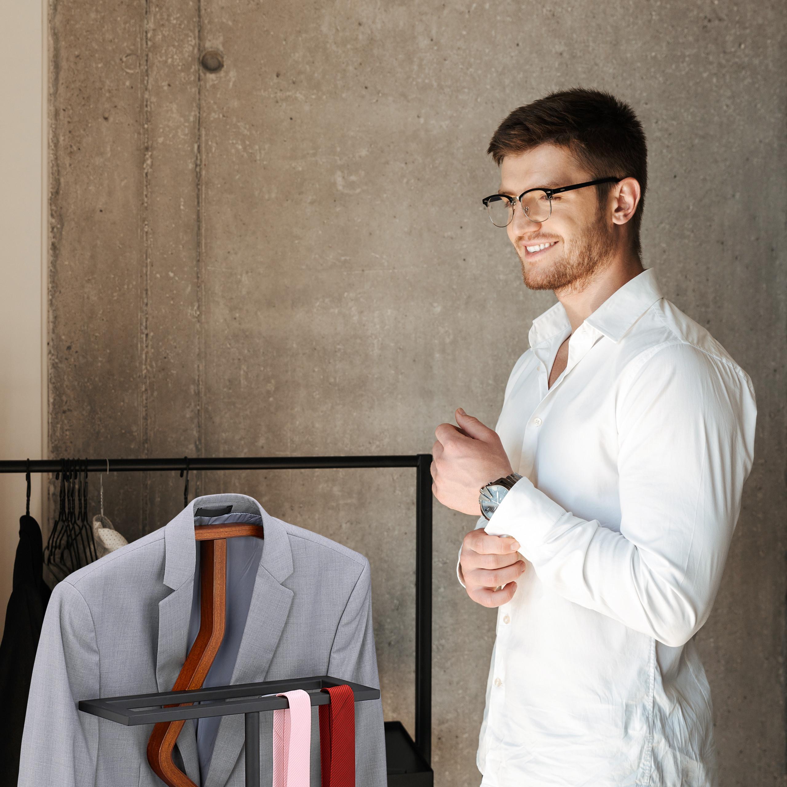 Herrendiener Damendiener Kleiderbutler Stummer Diener Kleiderablage Anzugständer
