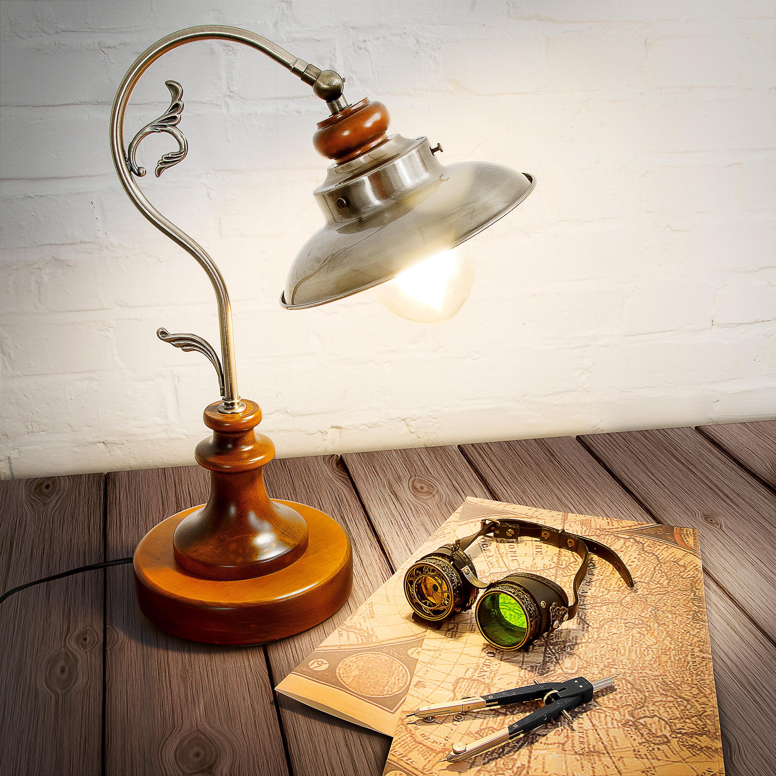 Indexbild 2 - Tischlampe Tischleuchte Schreibtischlampe Steampunk Vintage Design Retro