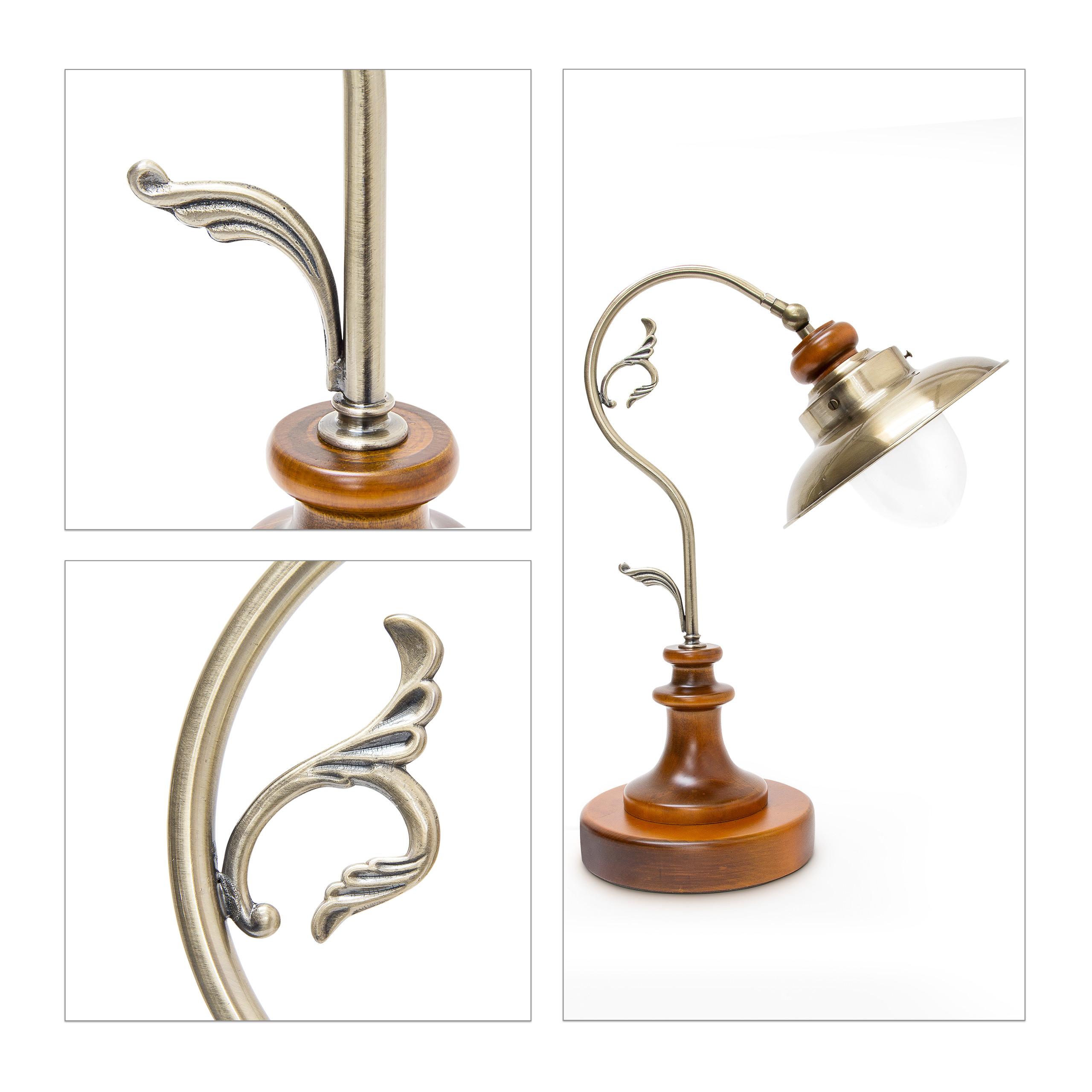 Indexbild 6 - Tischlampe Tischleuchte Schreibtischlampe Steampunk Vintage Design Retro