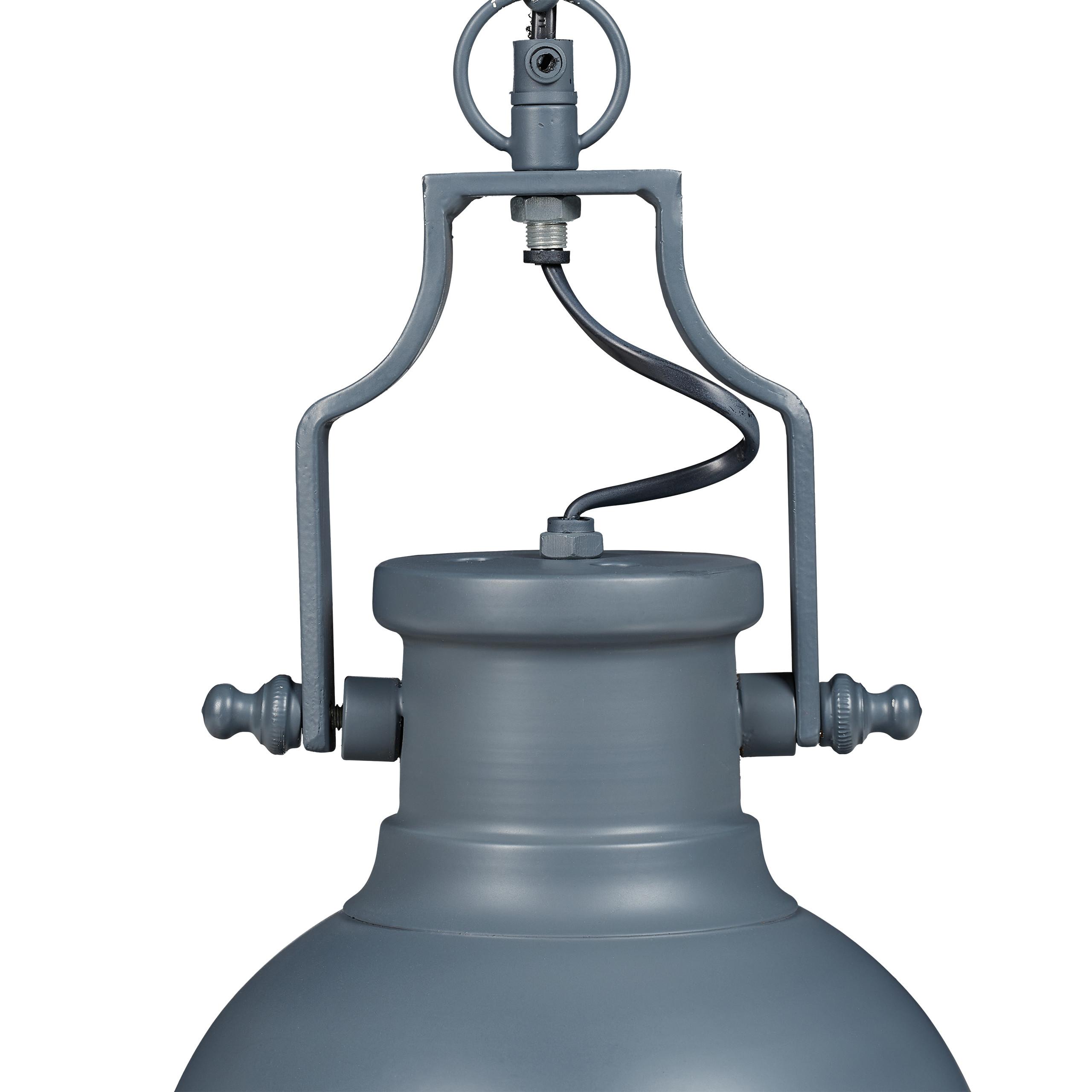 Indexbild 17 - Hängelampe Industrial klein in 3 Farben, Pendelleuchte shabby retro Leuchte Deko