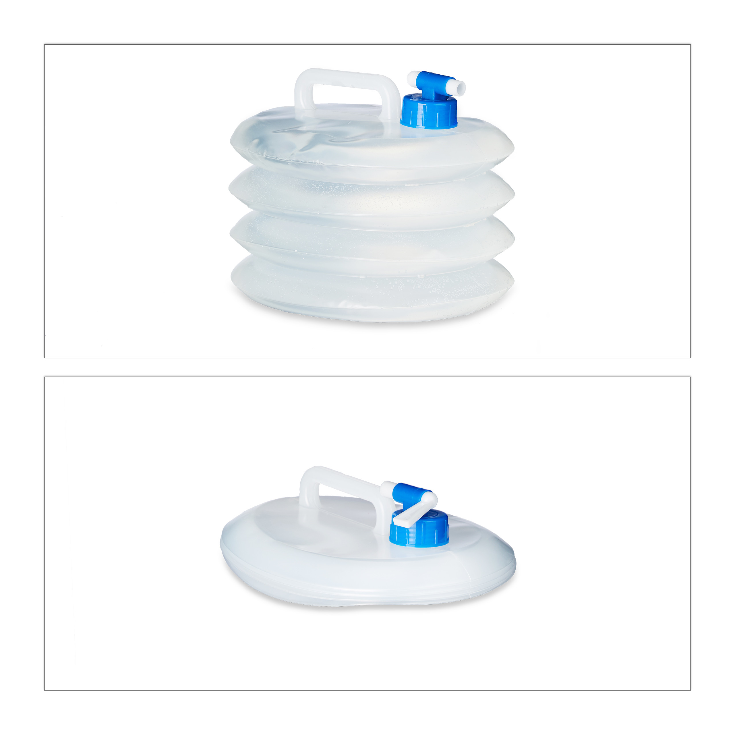 Indexbild 10 - Wasserkanister faltbar 4er Set Faltkanister Camping Trinkwasserkanister BPA frei