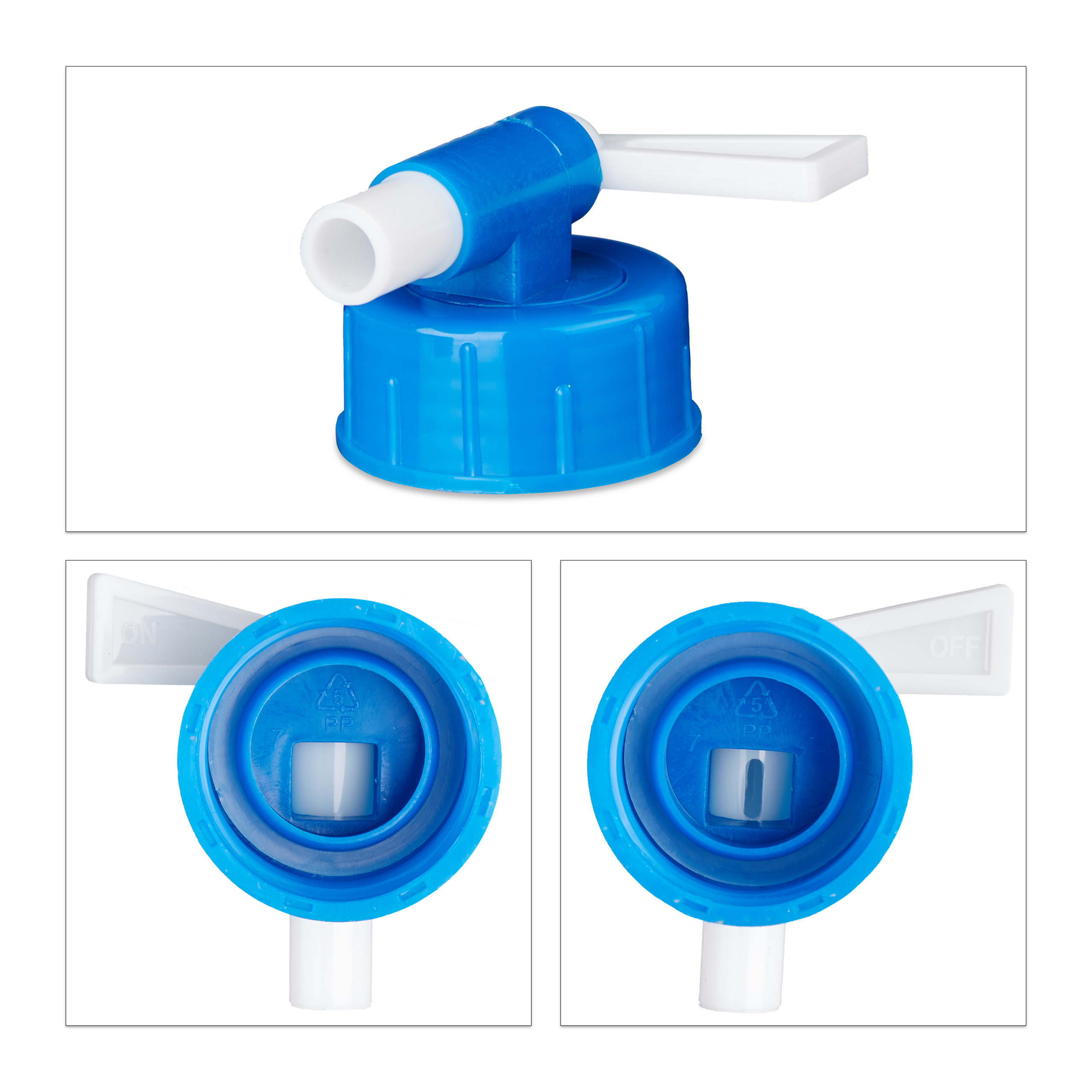Indexbild 11 - Wasserkanister faltbar 4er Set Faltkanister Camping Trinkwasserkanister BPA frei