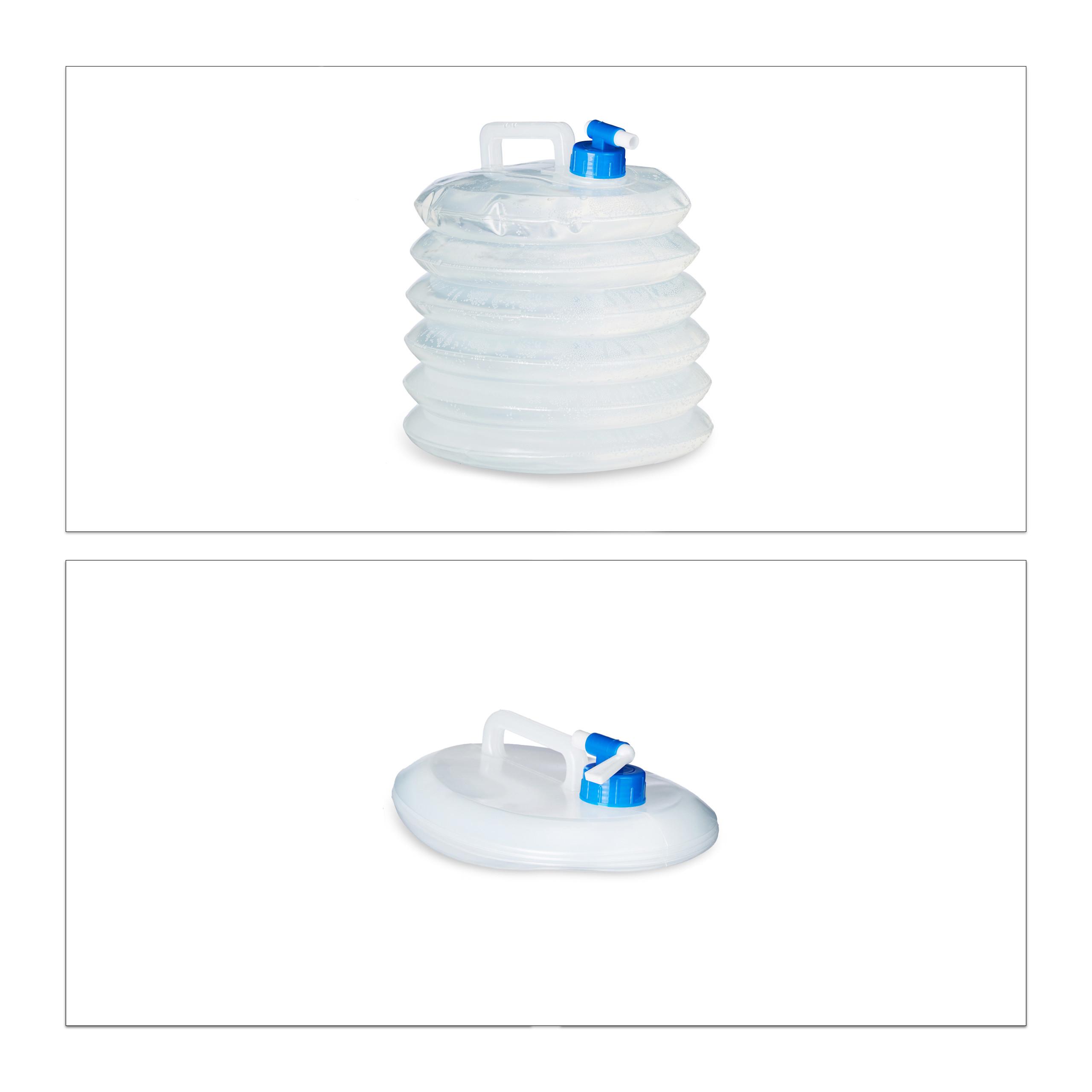 Indexbild 16 - Wasserkanister faltbar 4er Set Faltkanister Camping Trinkwasserkanister BPA frei