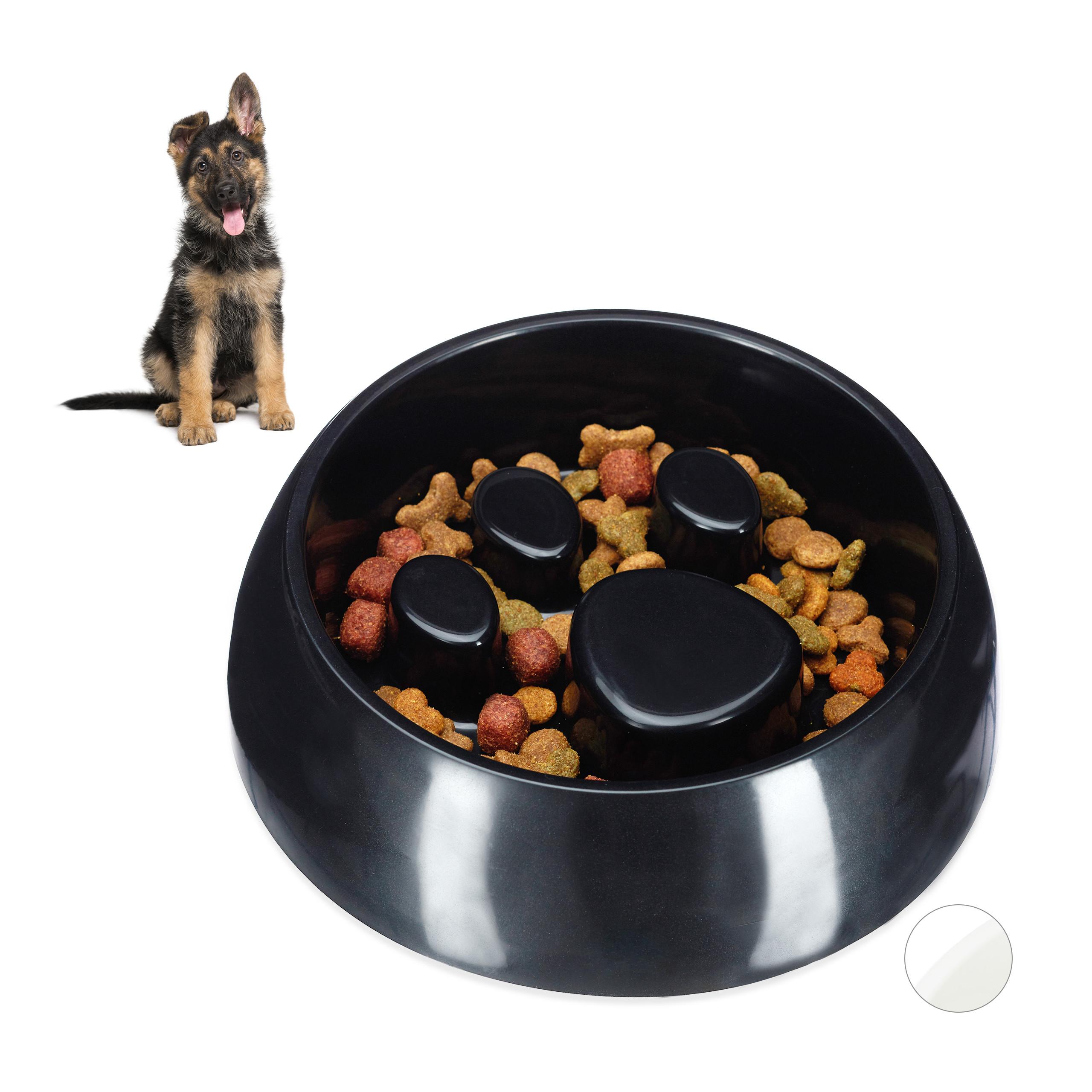 Indexbild 8 - Anti Schling Napf Hundenapf Großer Fressnapf Langsames Fressen Futternapf rund