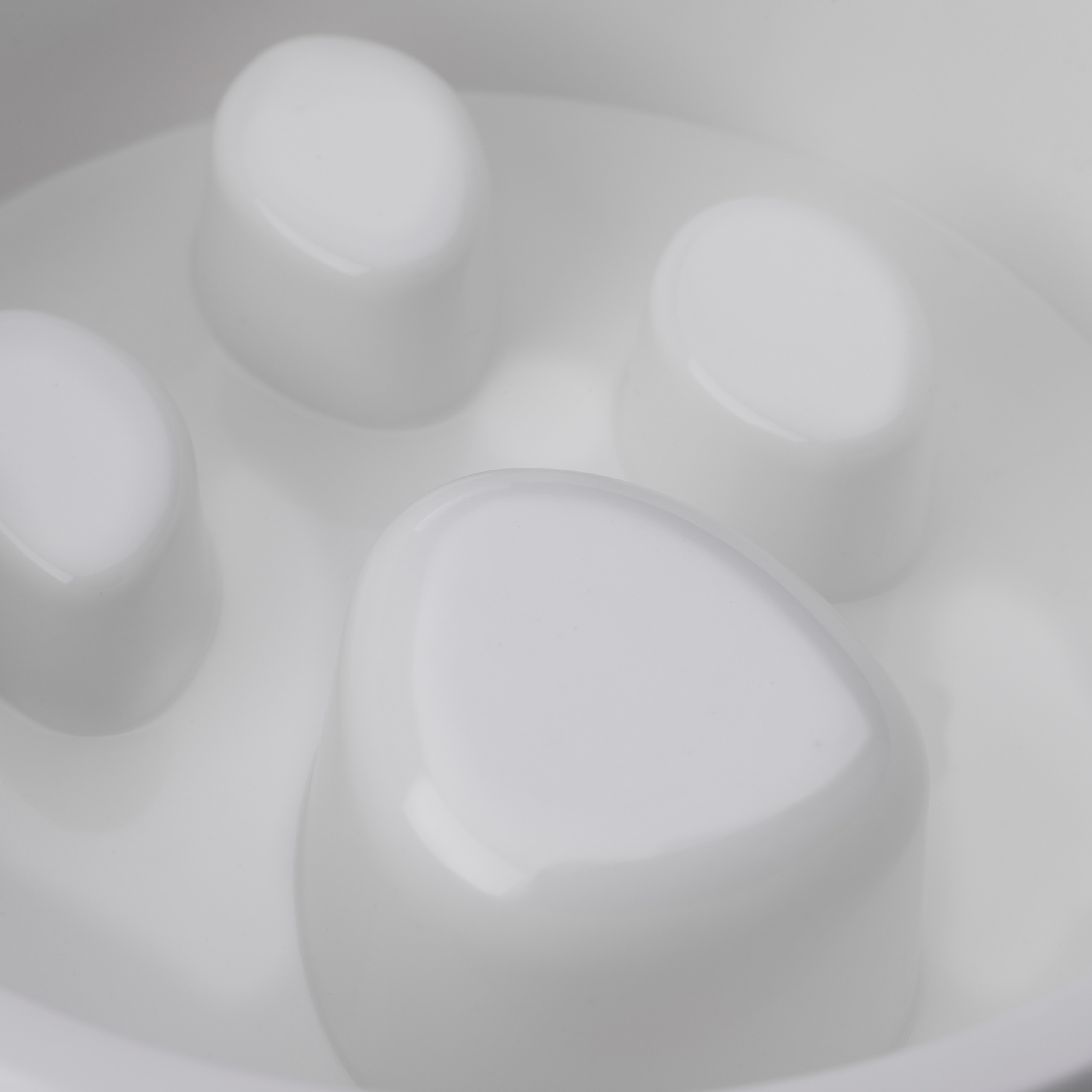 Indexbild 20 - Anti Schling Napf Hundenapf Großer Fressnapf Langsames Fressen Futternapf rund