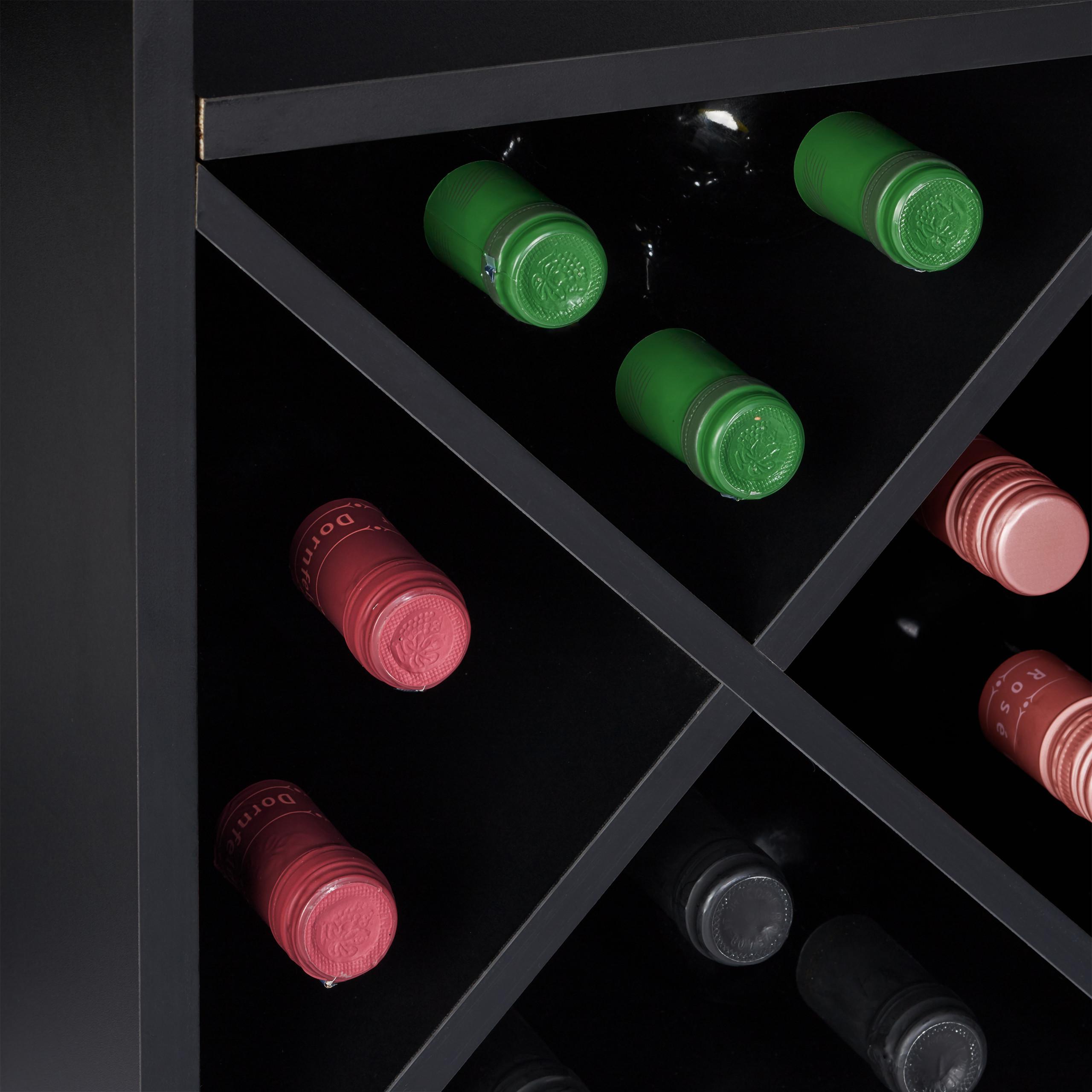 Indexbild 16 - Weinregal XL Hausbar 22 Weinflaschen Regal Weinständer Weinaufbewahrung Barmöbel