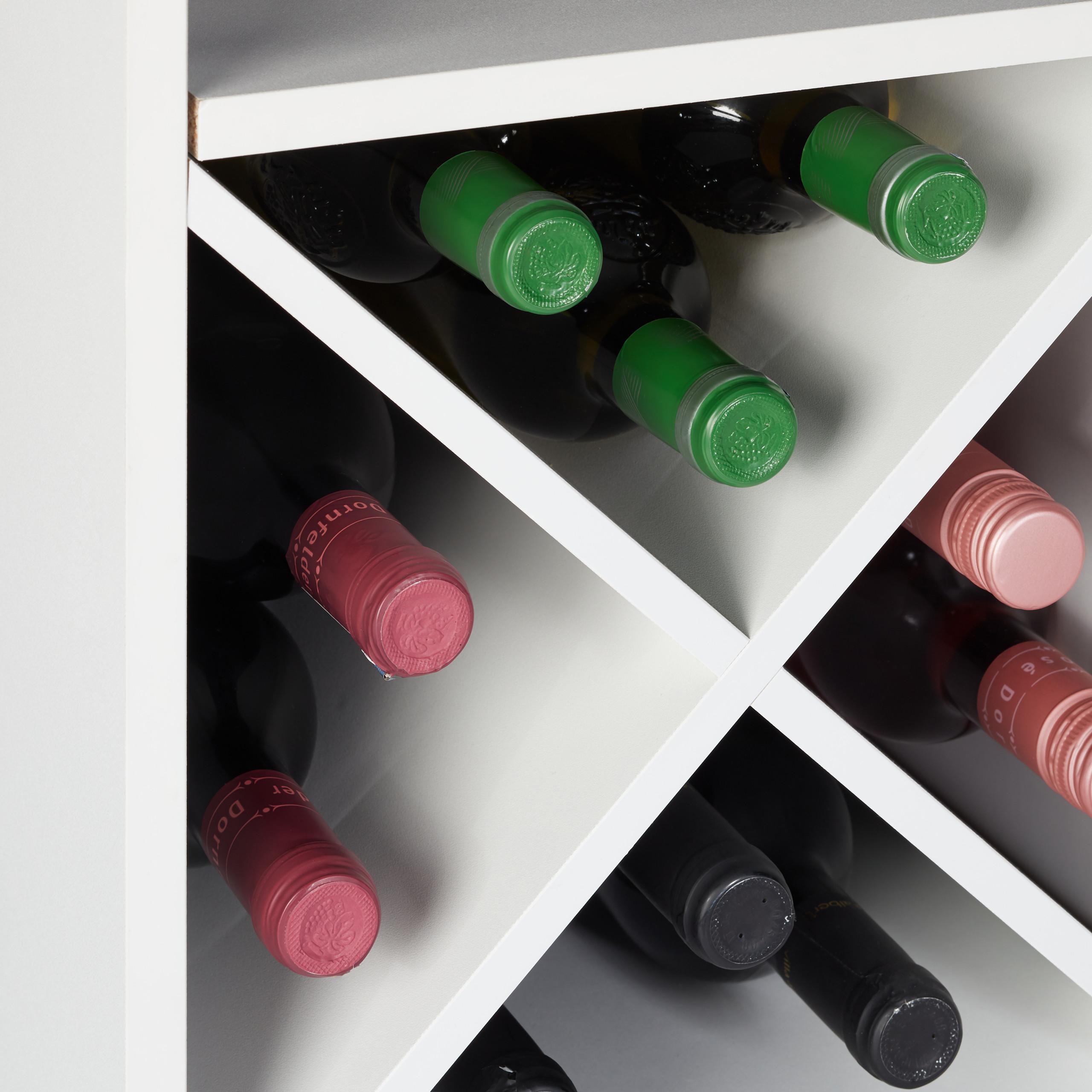 Indexbild 28 - Weinregal XL Hausbar 22 Weinflaschen Regal Weinständer Weinaufbewahrung Barmöbel