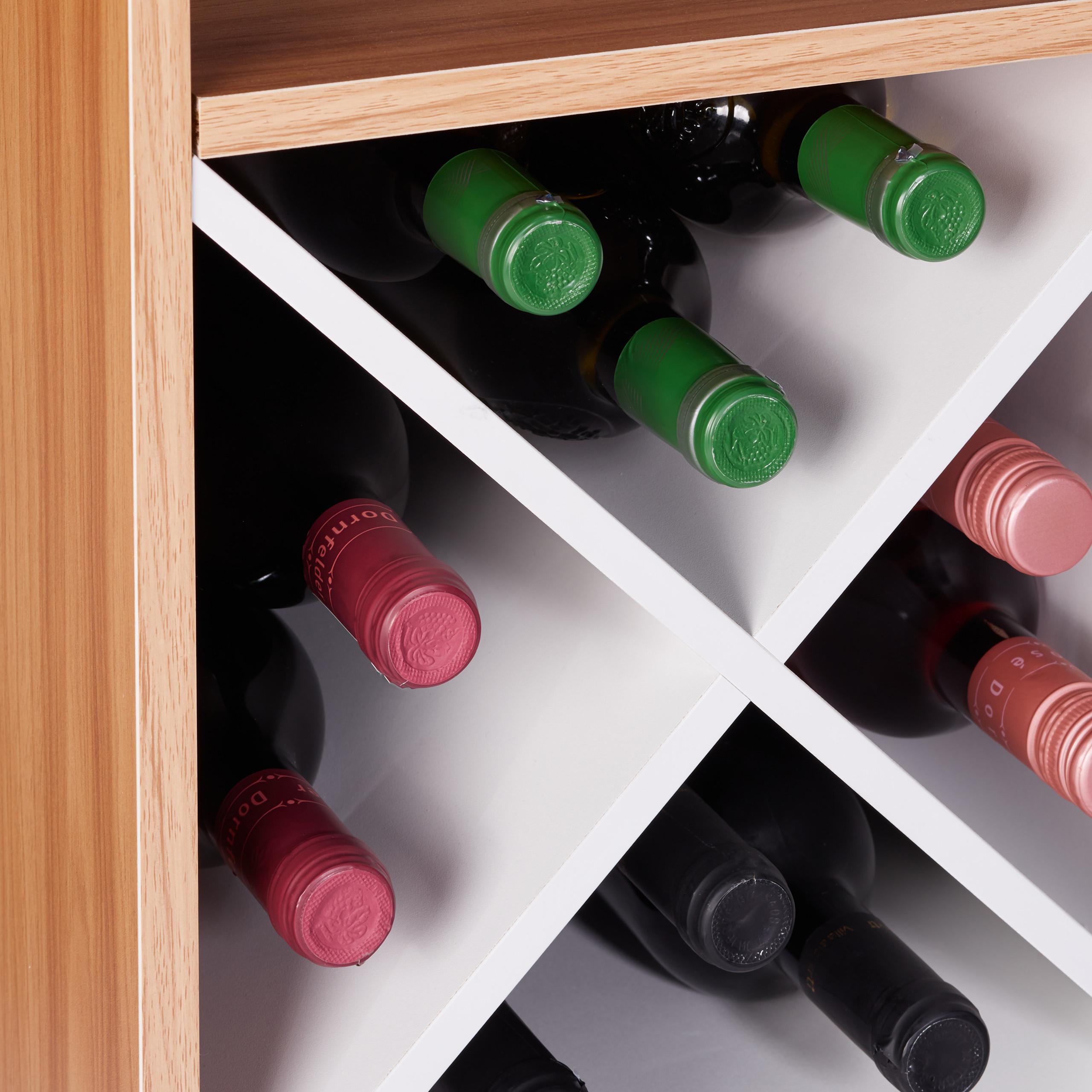 Indexbild 39 - Weinregal XL Hausbar 22 Weinflaschen Regal Weinständer Weinaufbewahrung Barmöbel