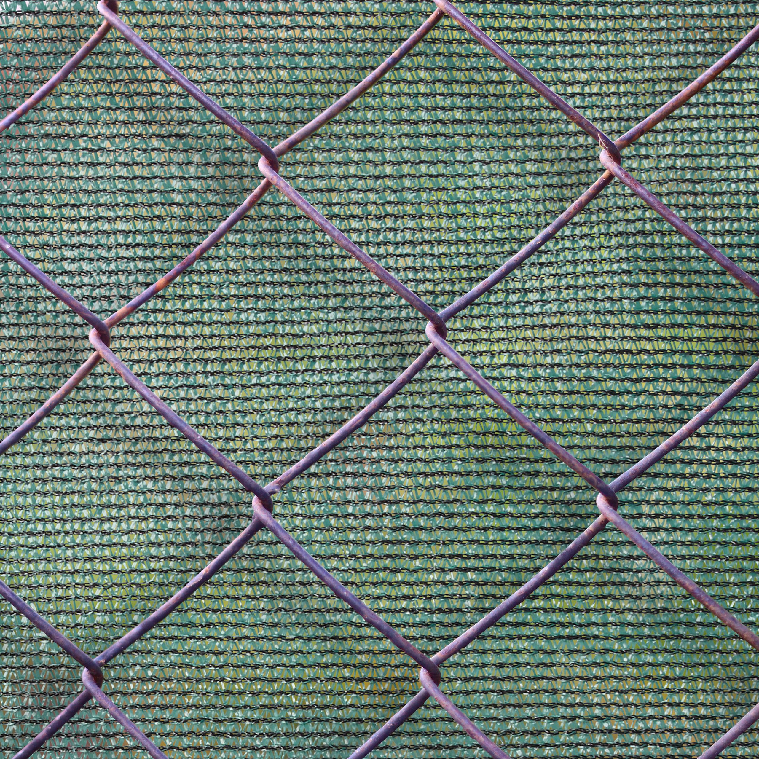 Indexbild 13 - Zaunblende grün 1m hoch, Sichtschutz Gartenzaun, Zaunsichtschutz, HDPE 150g/m²
