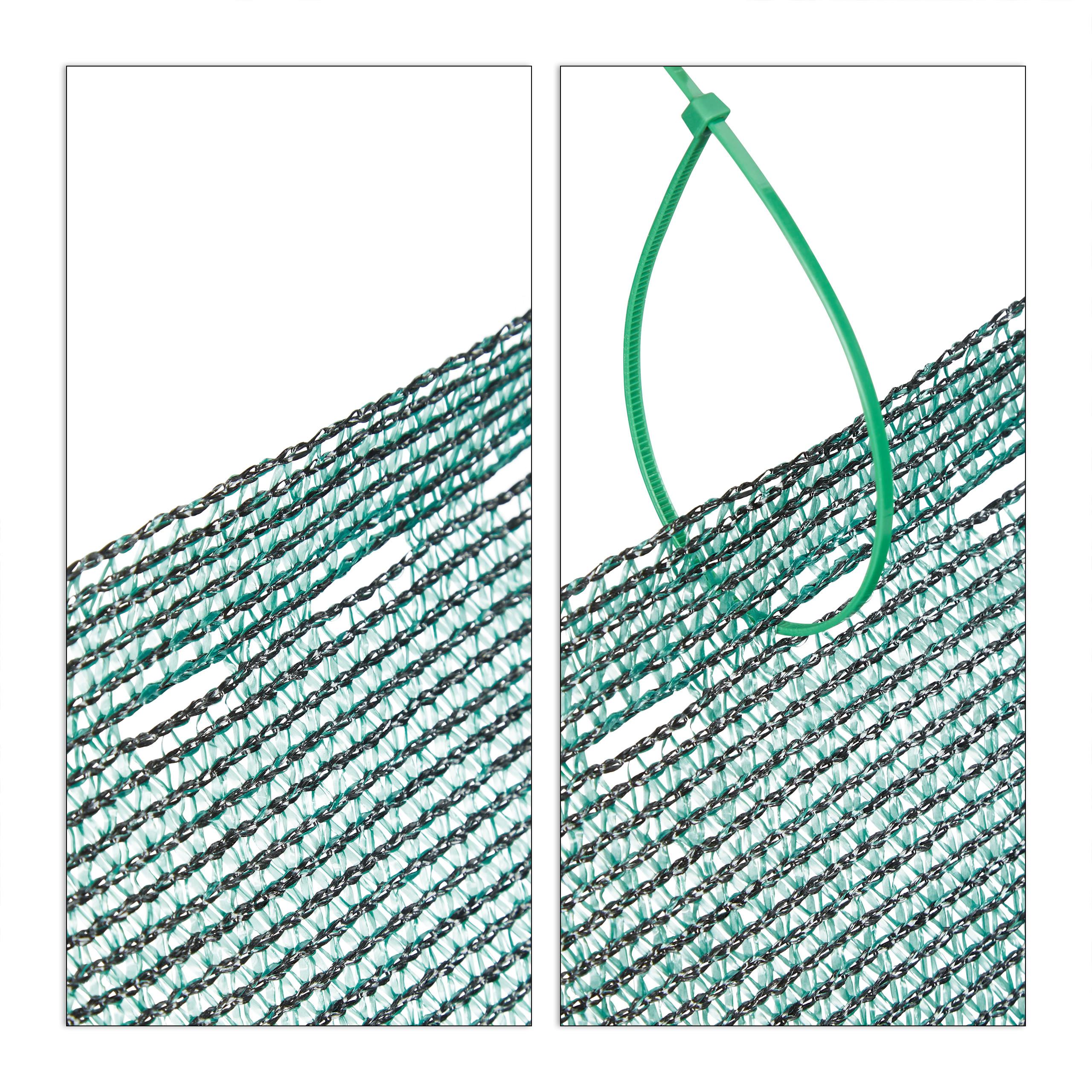 Indexbild 16 - Zaunblende grün 1m hoch, Sichtschutz Gartenzaun, Zaunsichtschutz, HDPE 150g/m²