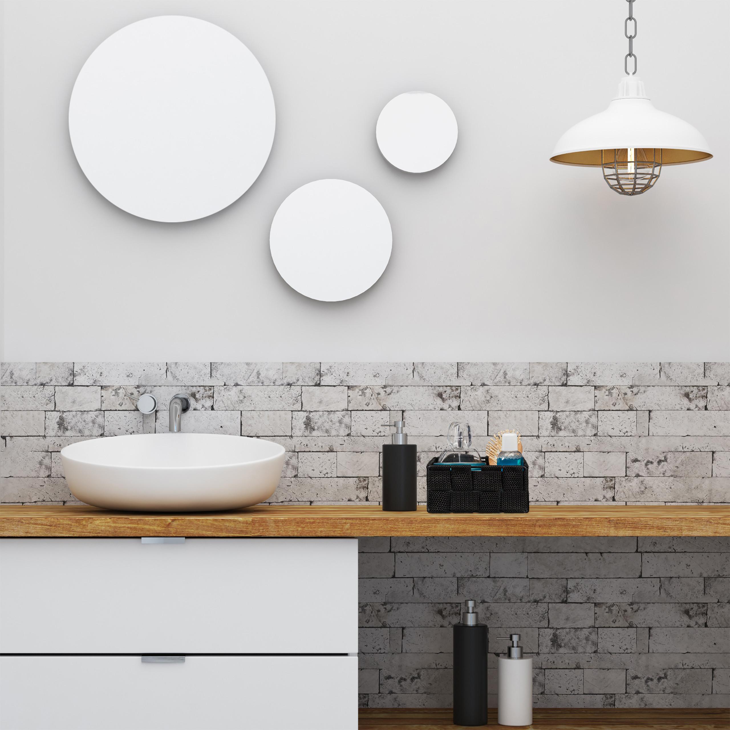 Aufbewahrungskorb Trennwand Badezimmer Körbchen geflochten ...
